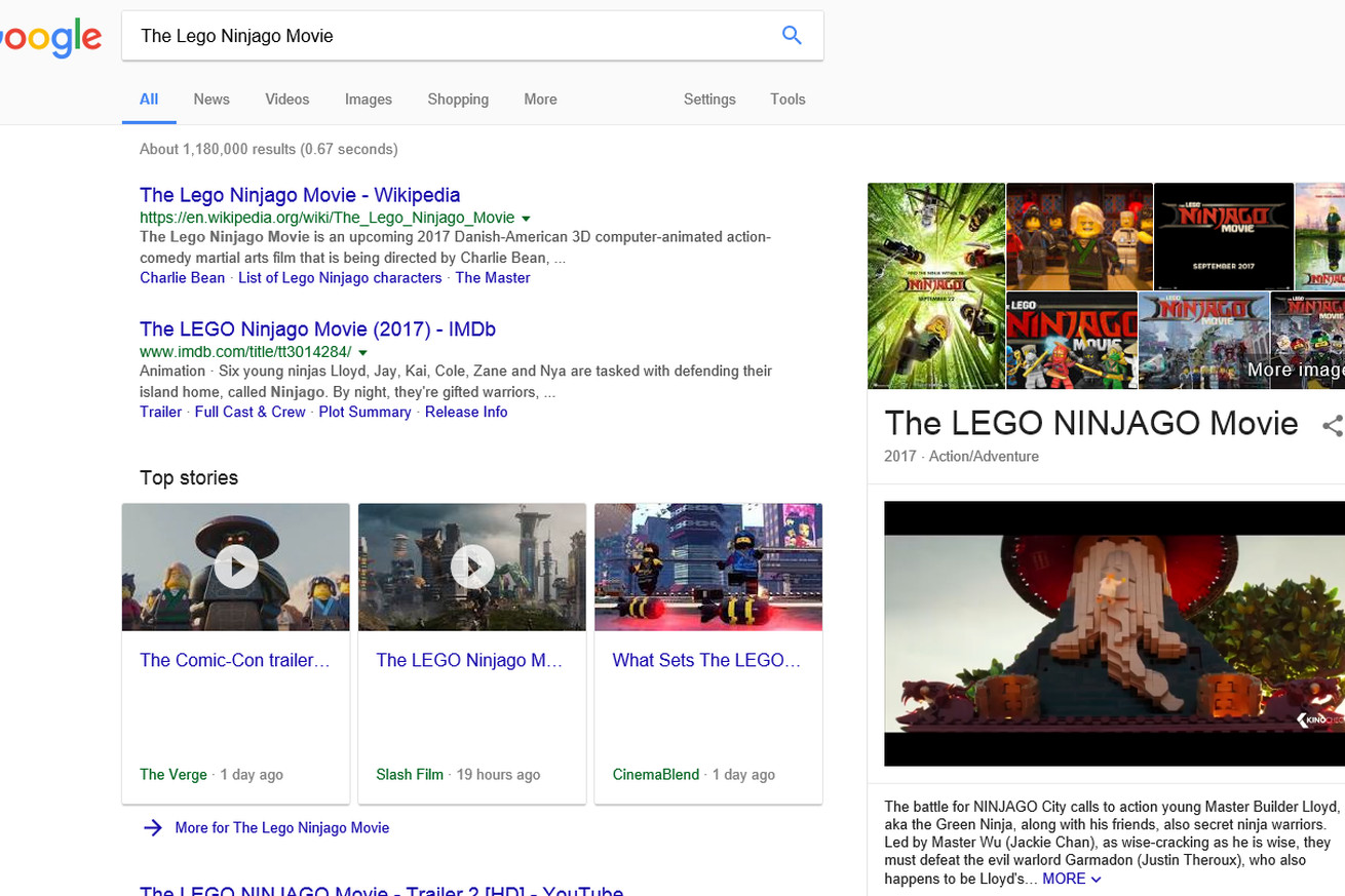 google ruins search for select users with autoplaying videos