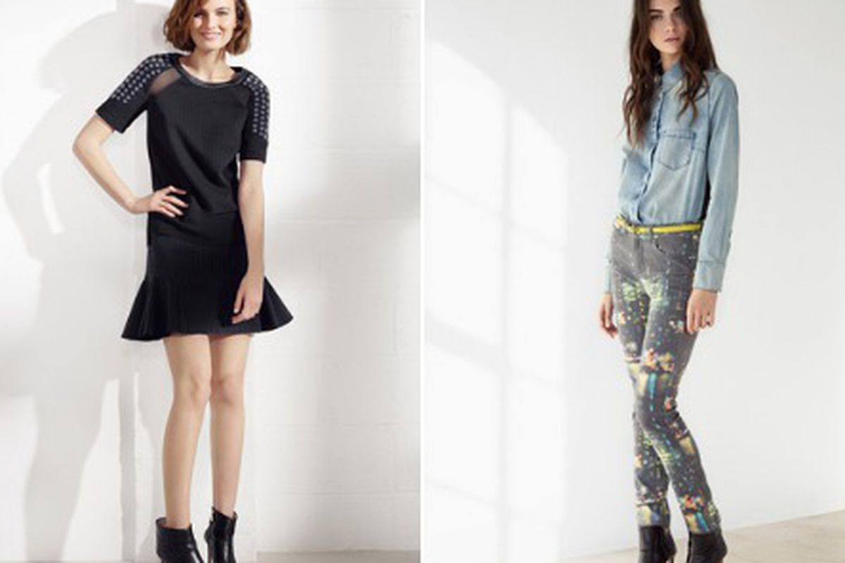 """Two looks from the <a href=""""http://us.karenmillen.com/info/Spring_Lookbook_2014"""">Spring 2014</a> collection"""