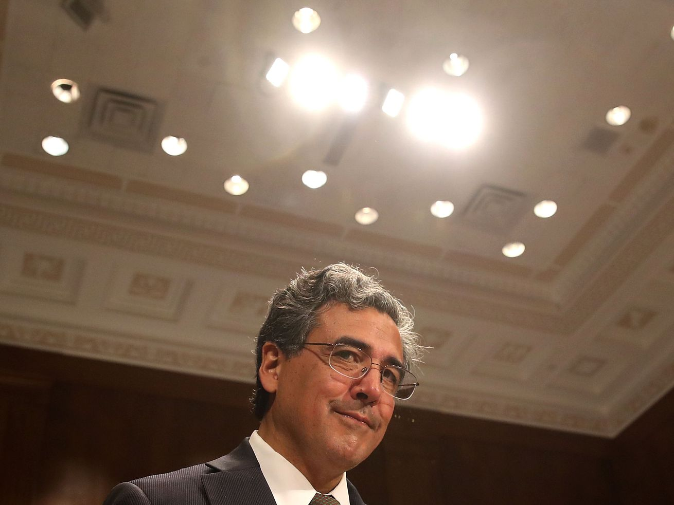 Solicitor General Noel Francisco on Capitol Hill in May 2017.