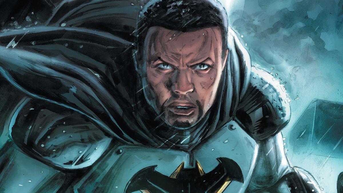 Tim Fox as the new Batman in DC Future State