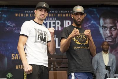 011 Viktor Postol x Mohamed Momoune - Easter-Barthelemy: Final press conference quotes