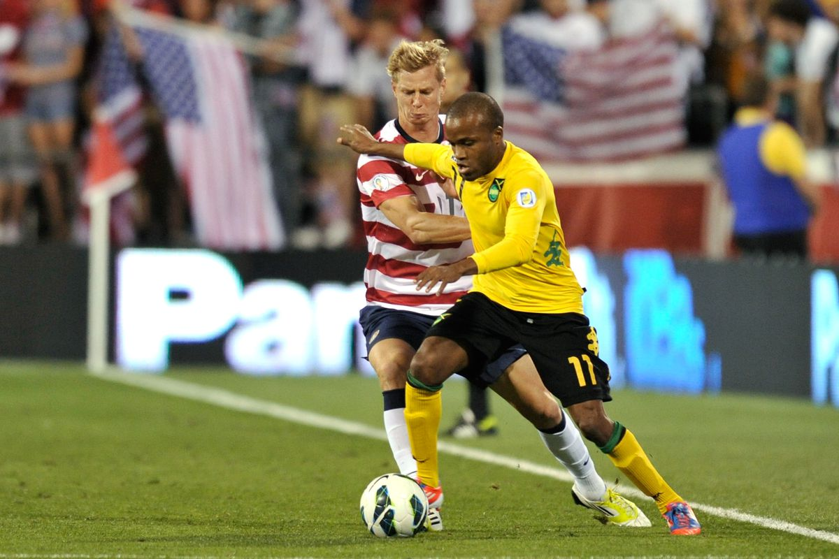 Brek Shea will be one of the USMNT fringe players fighting for a spot tonight