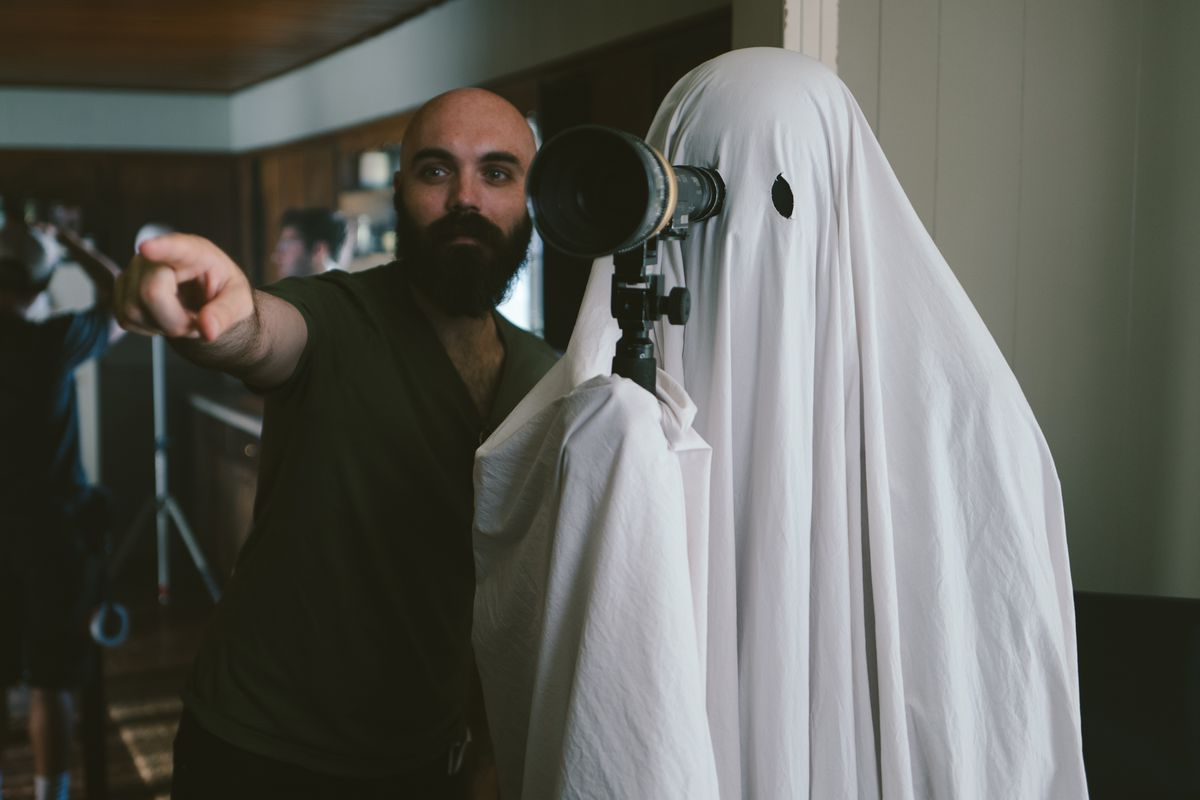 David Lowery and the ghost on set