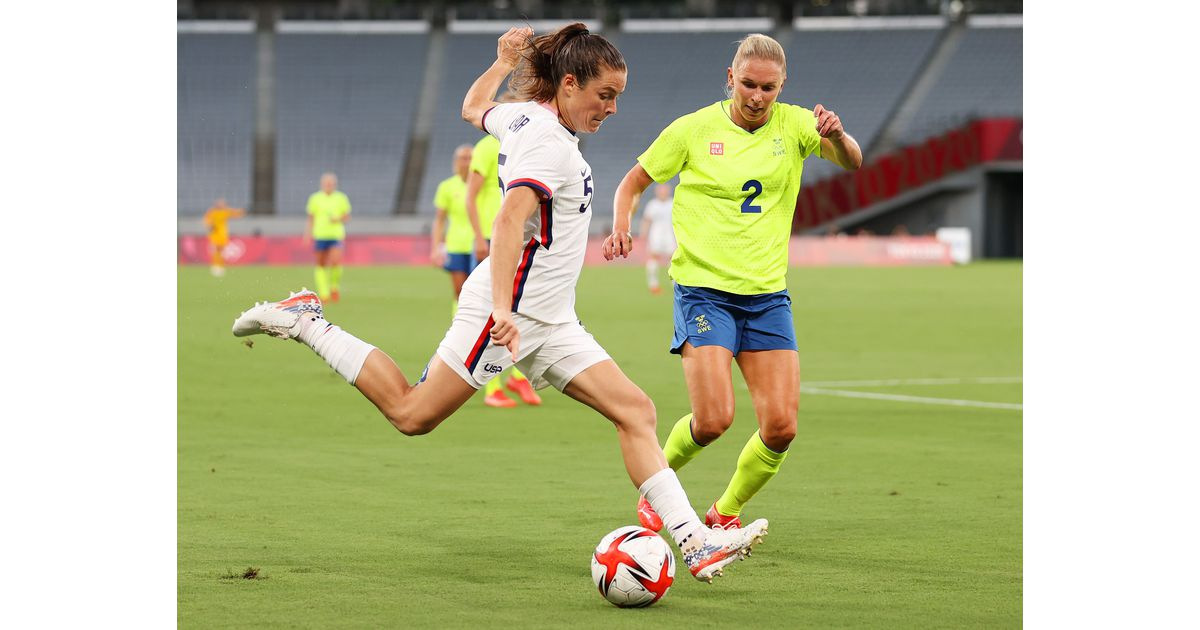 Washington Spirit at the Olympics: Kelley O'Hara and Julia Roddar both feature in USWNT vs. Sweden - Black And Red United