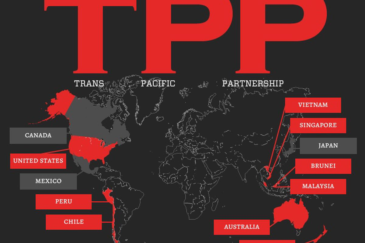 Wikileaks Publishes Secret Draft Of Trans Pacific Partnership Treaty