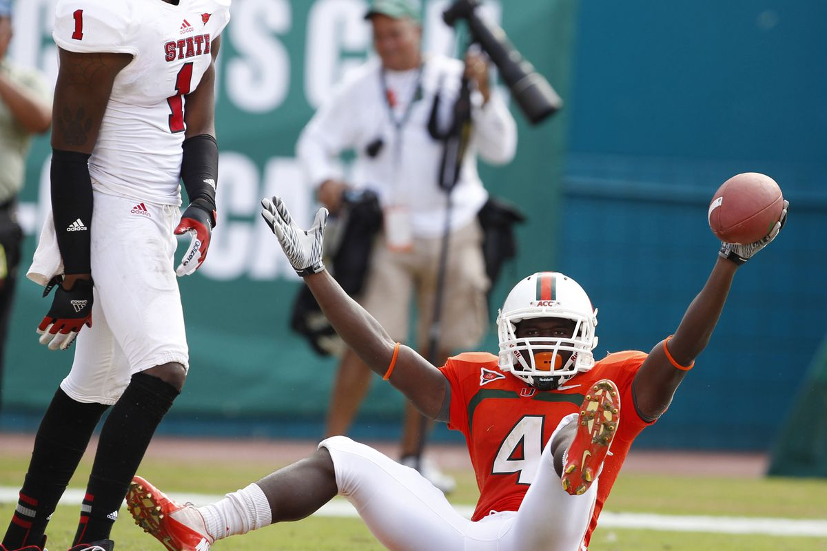 100 Greatest Plays In Miami History: #42-Stephen Morris To Phillip Dorsett vs NC State 2012