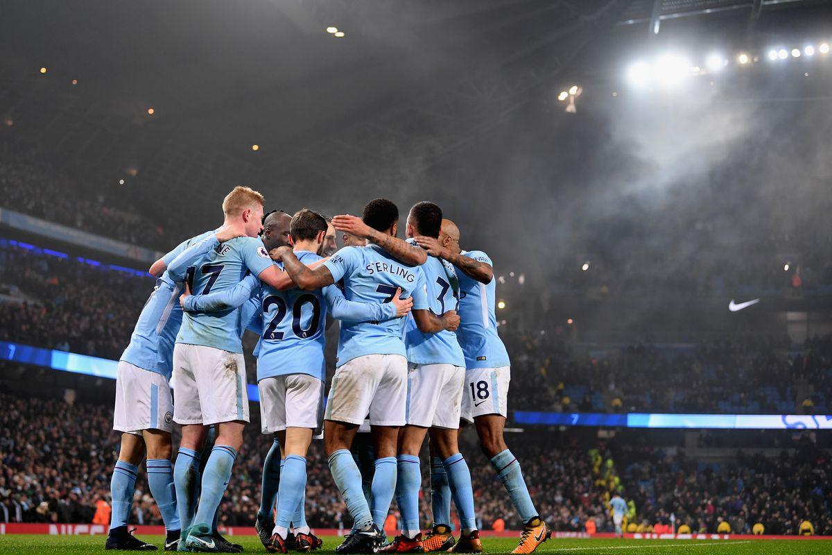 Manchester City: Manchester City 4-1 Tottenham Hotspur, Premier League