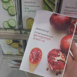 I pick up a few Innisfree face sheet masks because my face is begging for some much needed TLC.