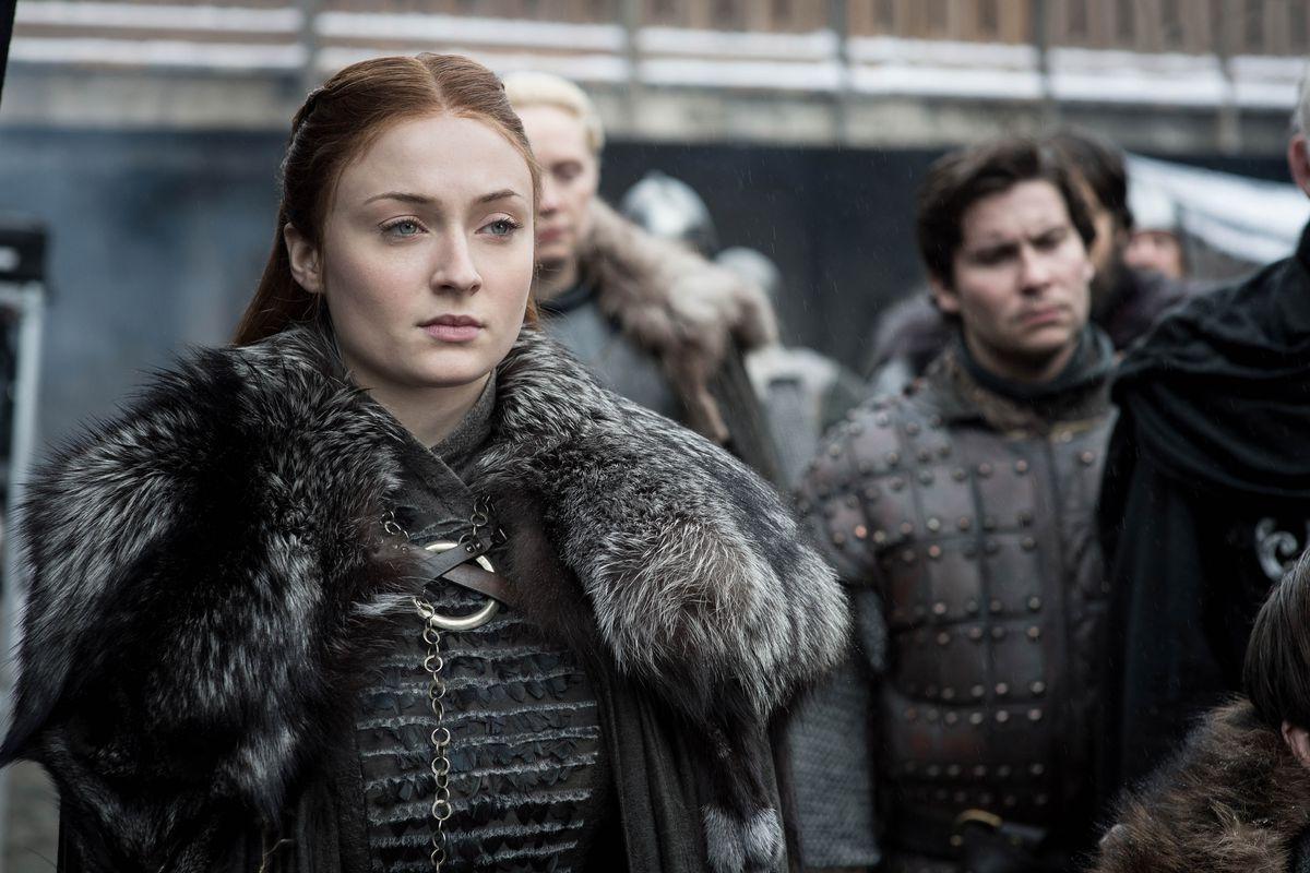 Sansa stares into the distance