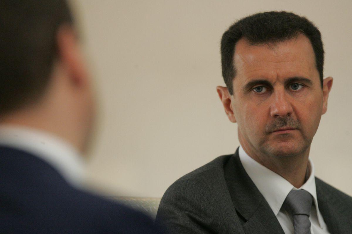 Syrian leader Bashar al-Assad.