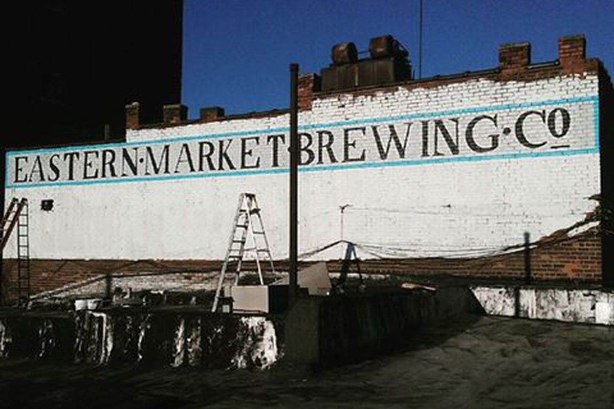 Eastern Market Brewing Company Mural