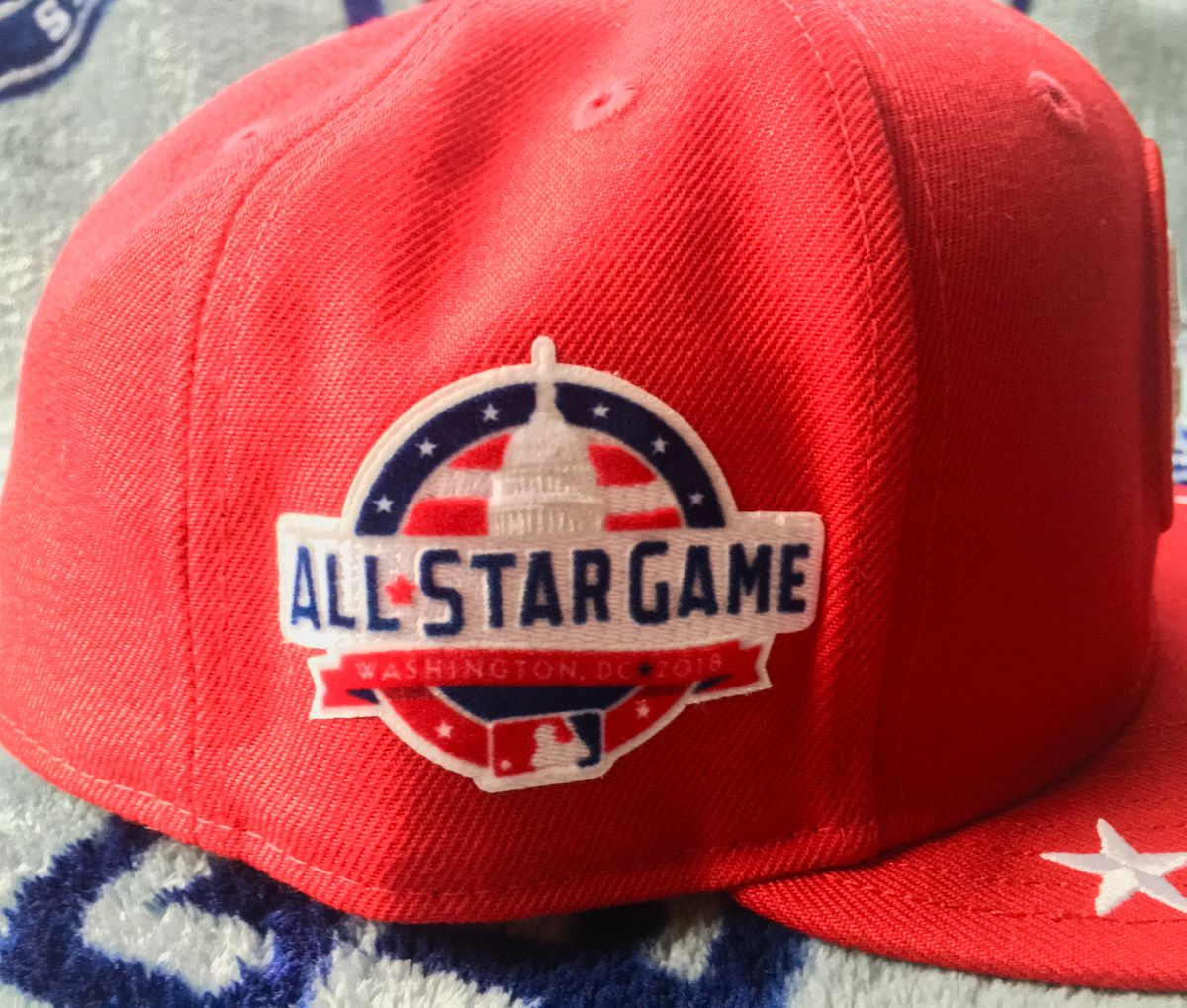 new product f7af1 a2bad TFHS Closer Look  2018 All Star Game Caps - Gaslamp Ball