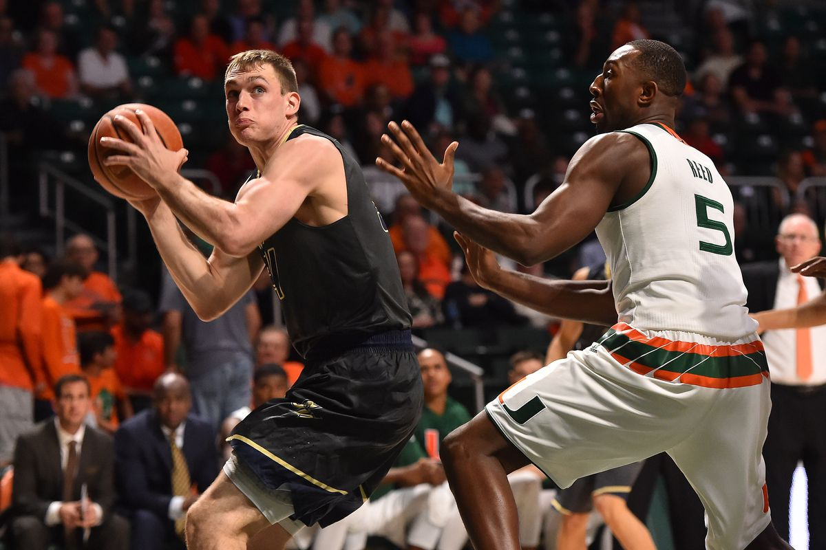 NCAA Basketball: George Washington at Miami