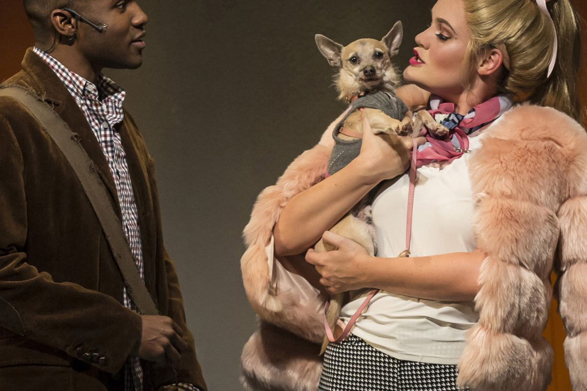 "Animal Fur Clithing Porn legally blonde"" movie review: musical is retro and rolls"