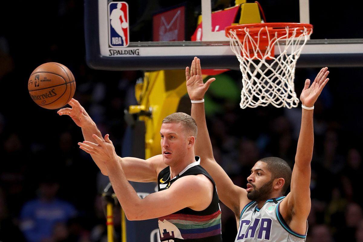 Charlotte Hornets v Denver Nuggets