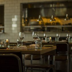 The dining room at The Optimist