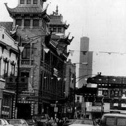 The Chinatown neighborhood in 1983.   Sun-Times Archives