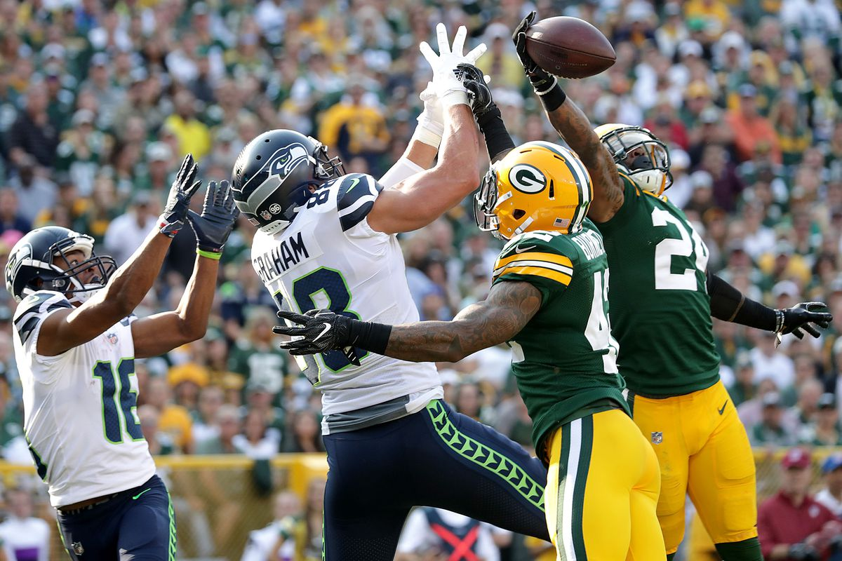 Thursday Night Football Live Thread Packers Seahawks Blogging