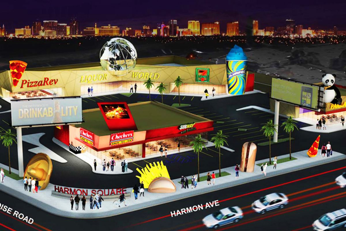 Harmon Square rendering