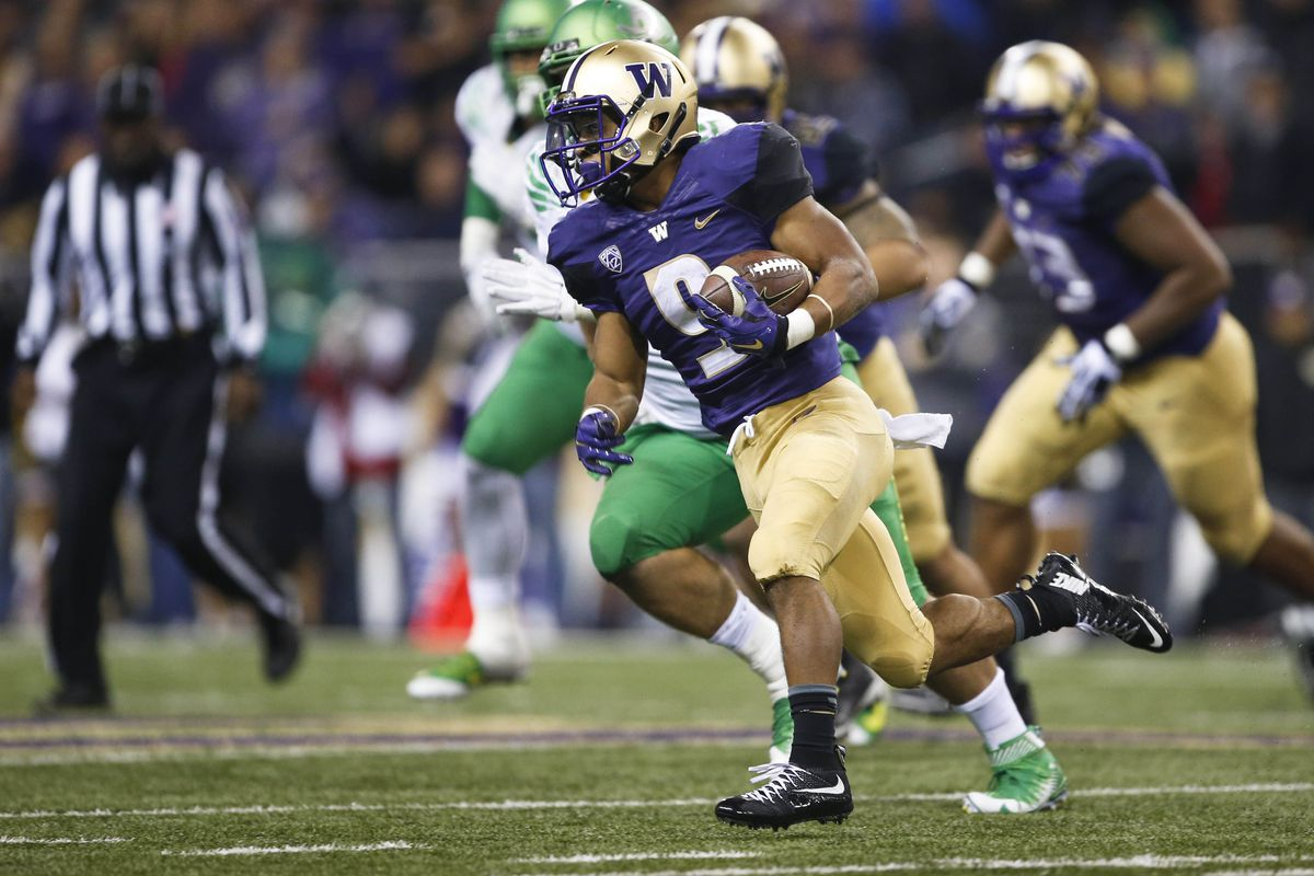 RB Myles Gaskin was a bright spot for the Huskies