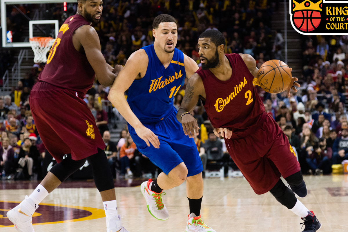 8e5145919b1 Kyrie Irving Spent His Christmas Reliving the Glory of Game 7 - The ...