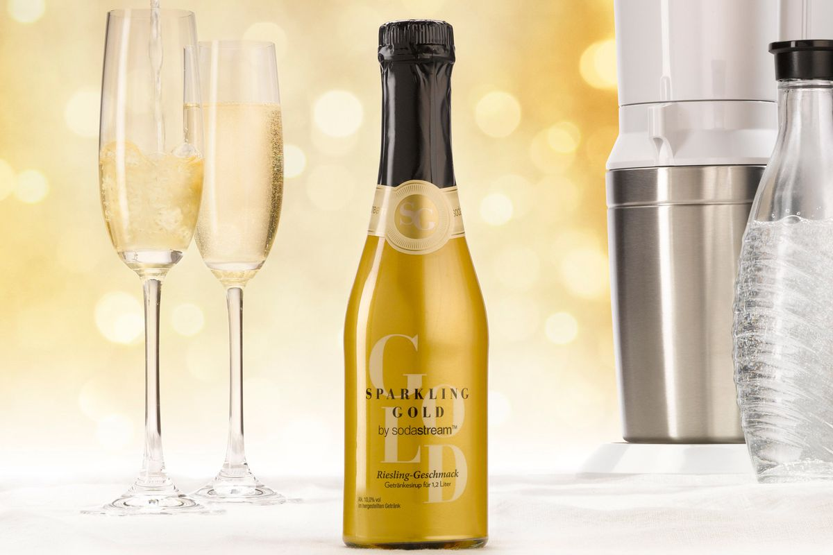 Sparkling Gold Prnewsfoto Sodastream International Ltd Cnw