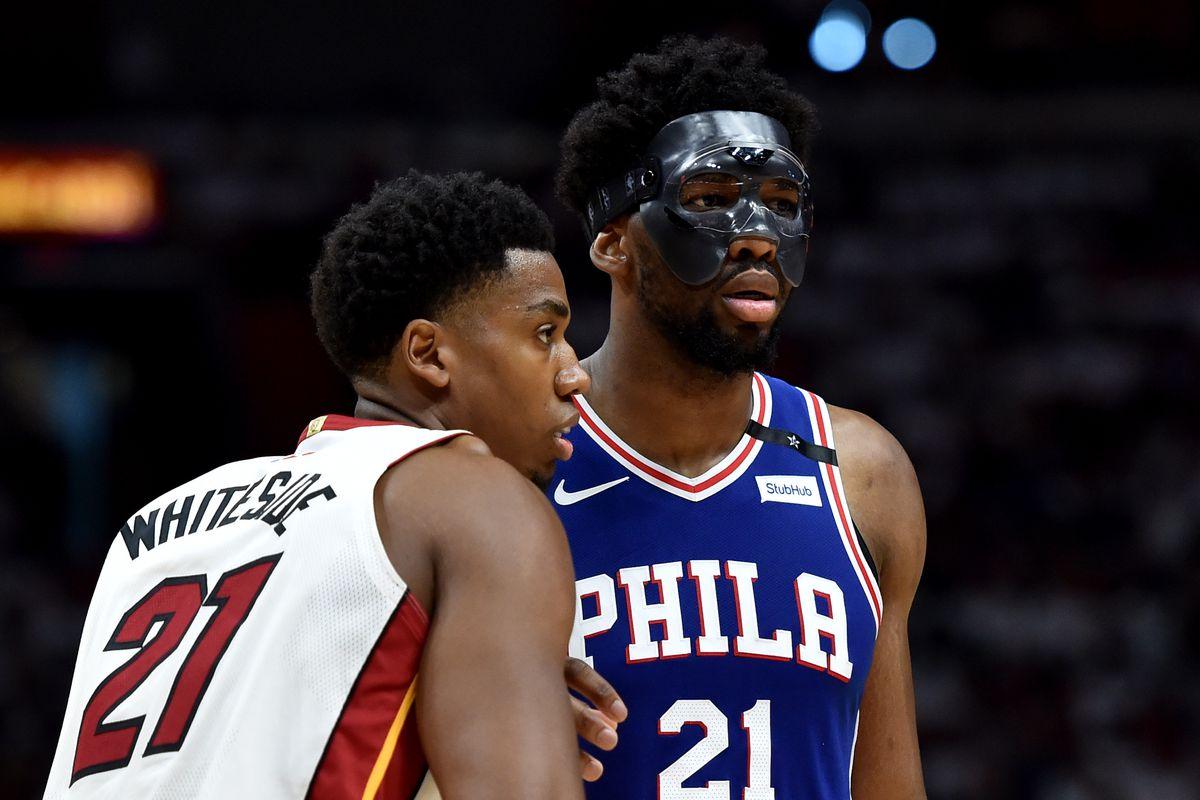 NBA: Playoffs-Philadelphia 76ers at Miami Heat