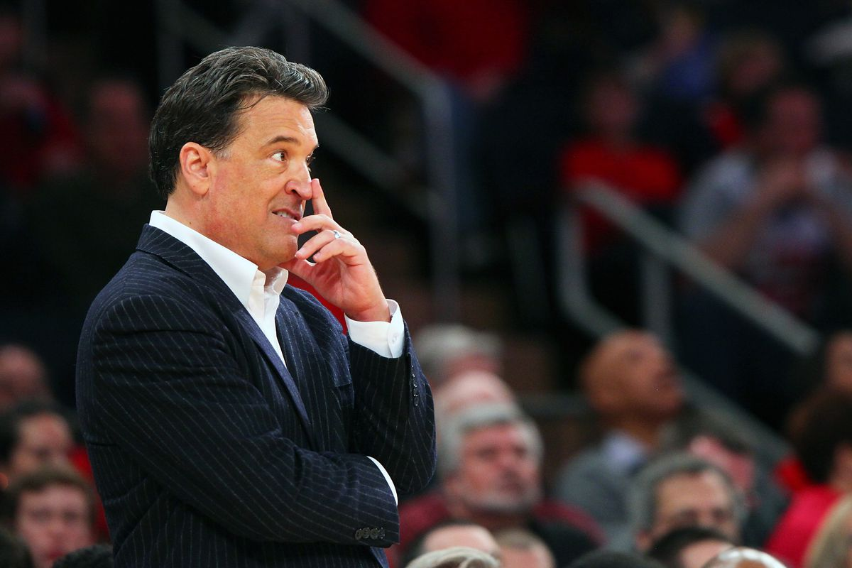 Steve Lavin was fired for a losing season after back to back sweet 16s, Alford's record is worse.