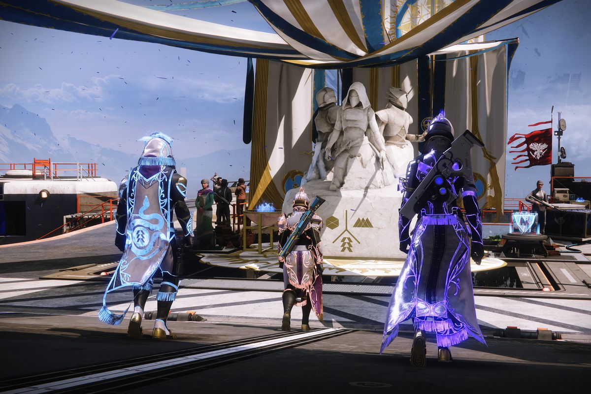 Destiny 2 Solstice of Heroes 2021 event in the Tower