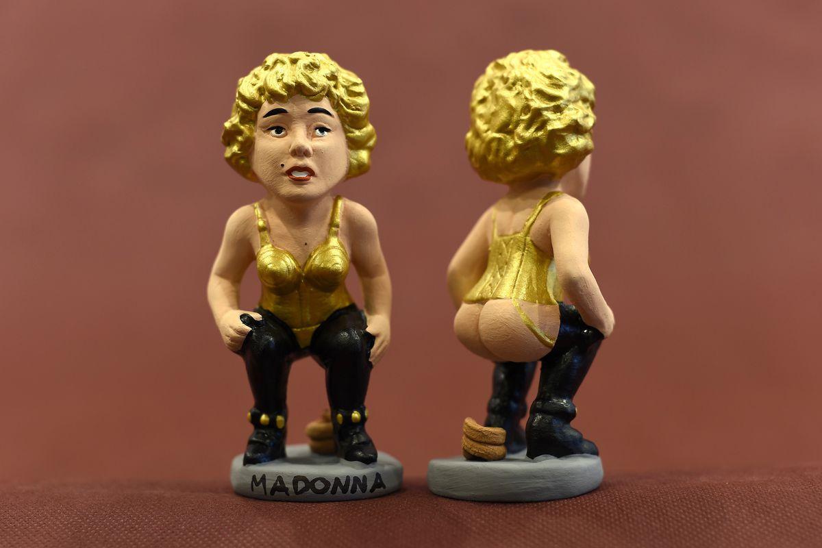 Madonna caganer