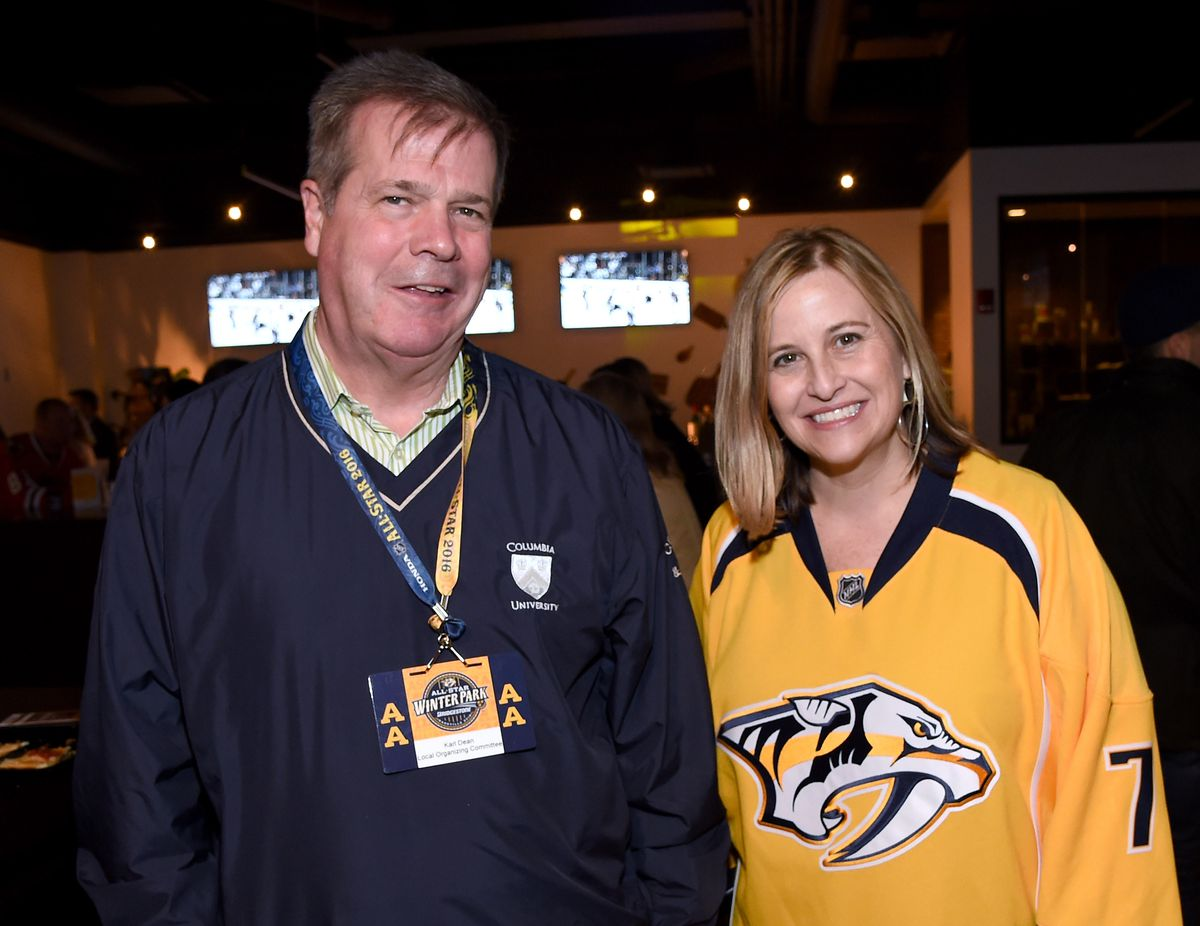 Celebrities Attend The 2016 NHL All-Star Game