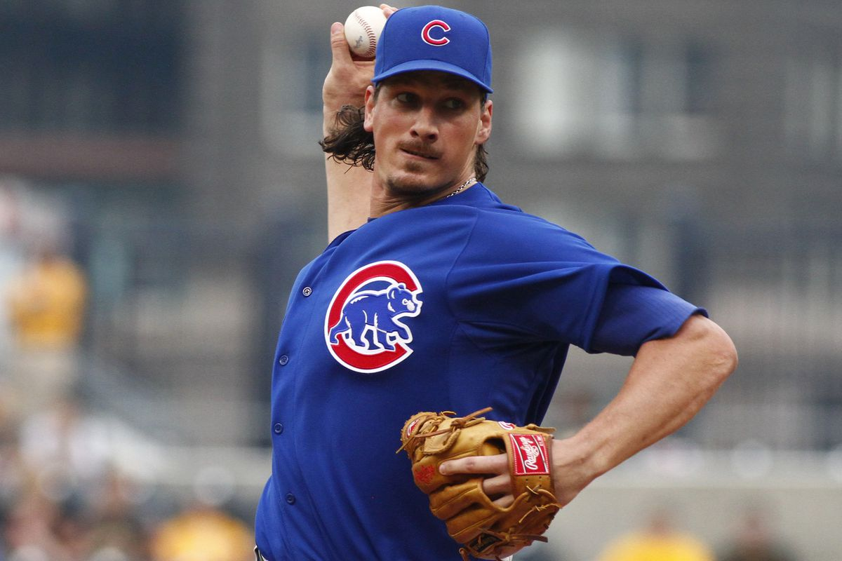 Any pitcher would look better in Blue Jays blue than Cubbie Blue.