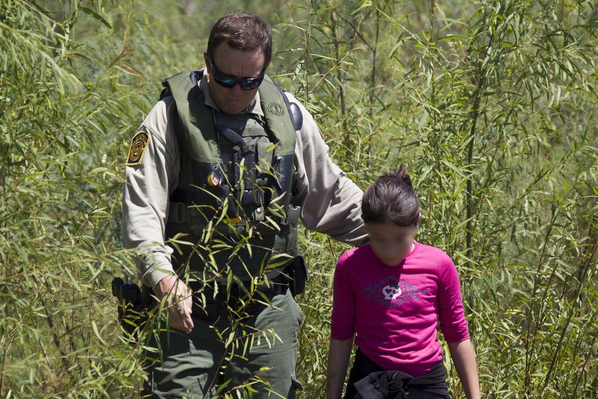 border patrol agent child