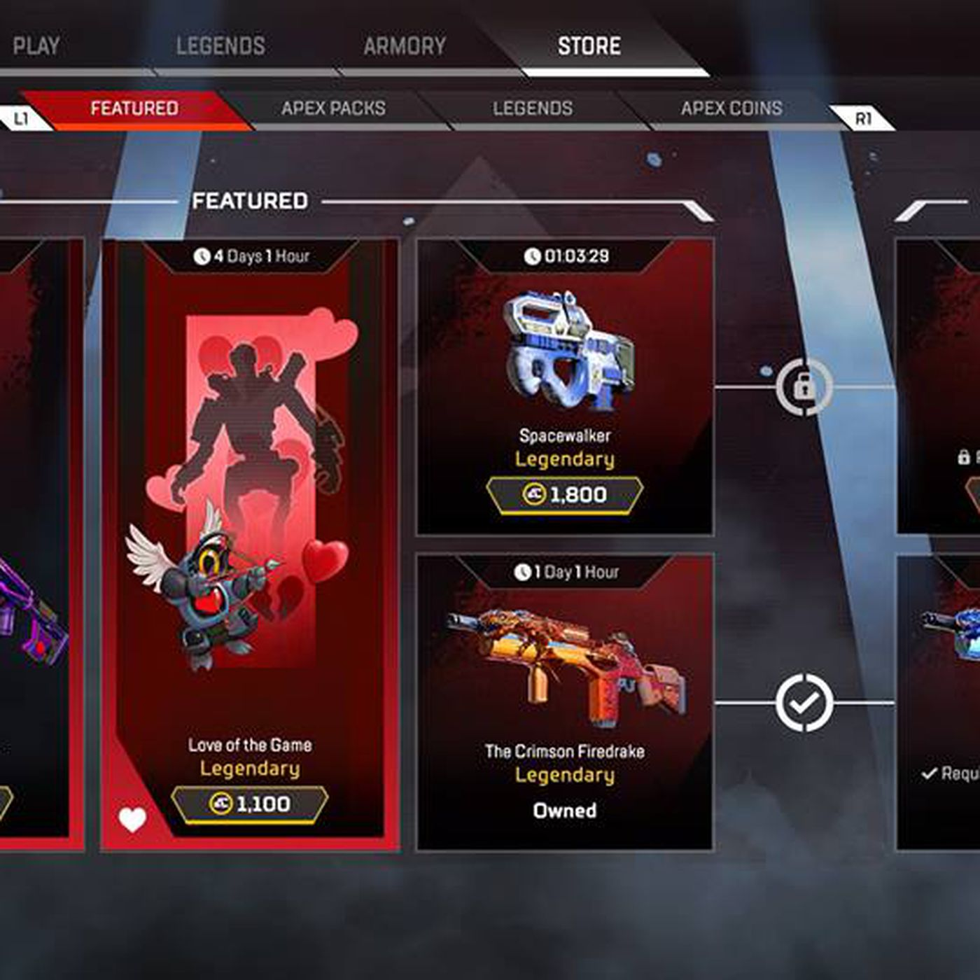 f23942030c Apex Legends players think its in-game items are way too expensive - The  Verge