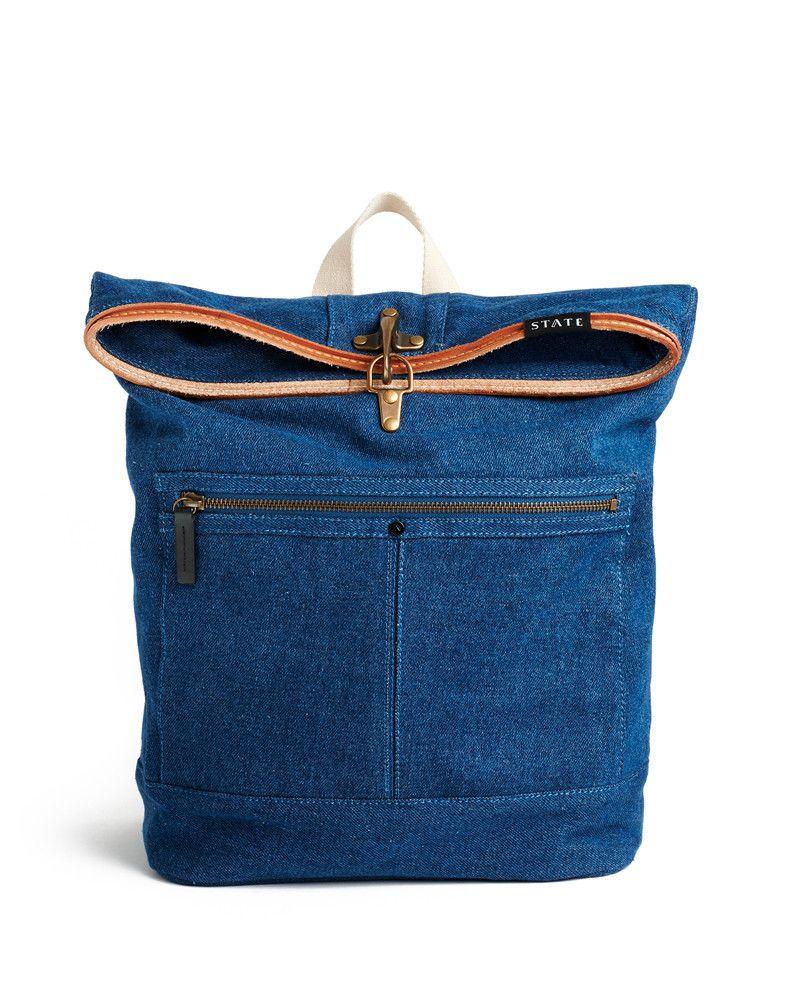 Denim Smith Backpack