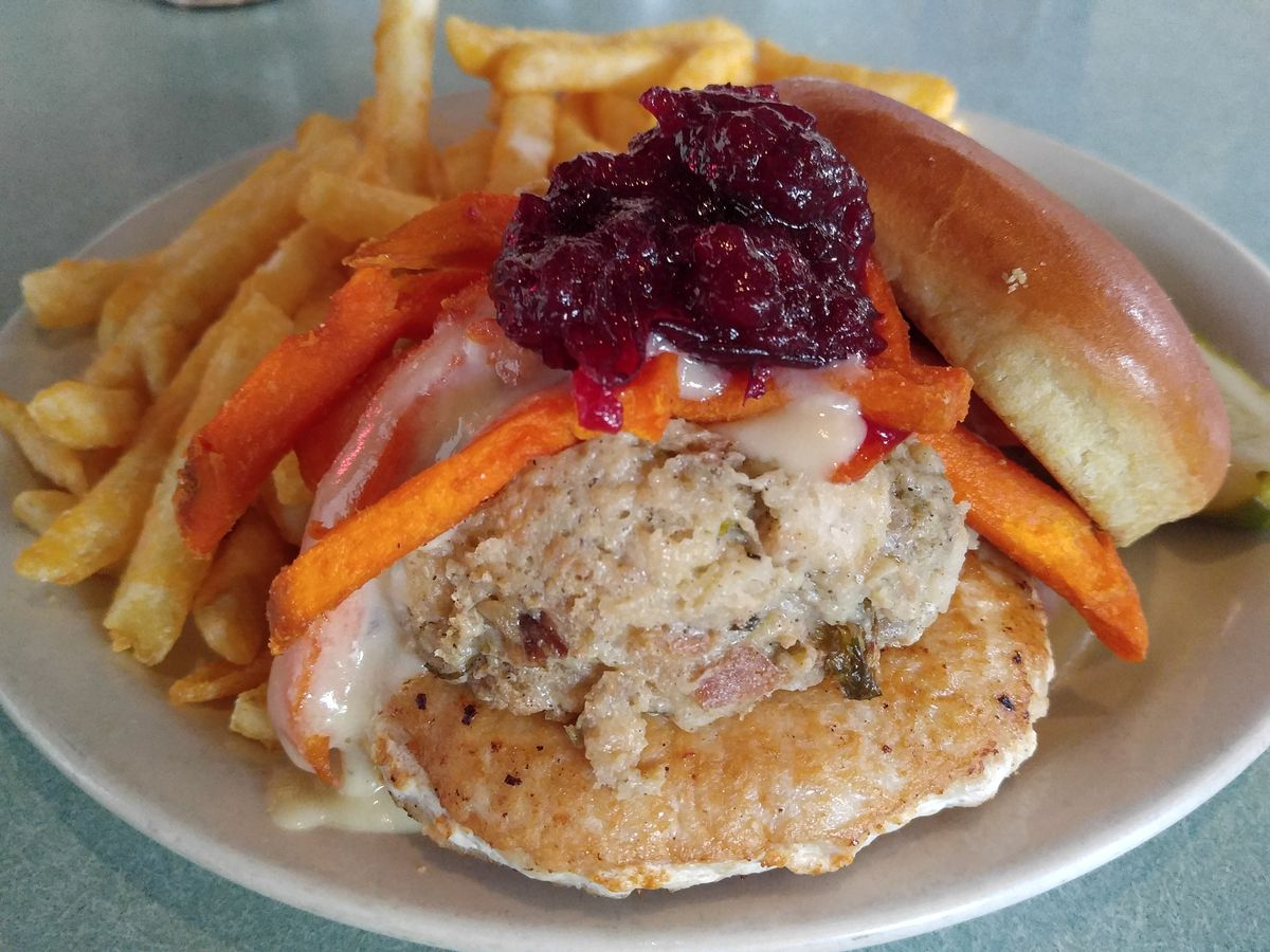The Gobbler burger at Whitlow's on Wilson