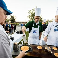 The United Way Day of Caring in Provo and Orem is pictured on Thursday, Sept. 8, 2016.
