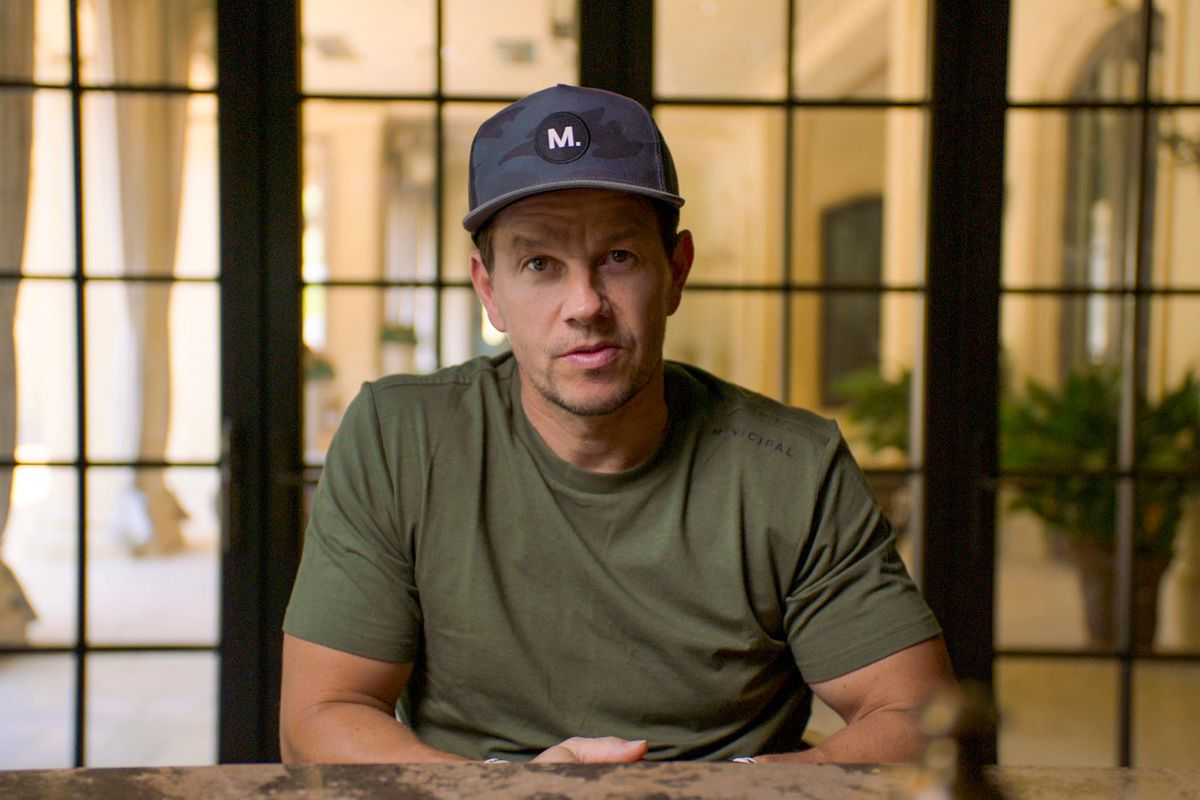 Actor Mark Wahlberg in a one-on-one interview in his own documentary series, Wahl Street.