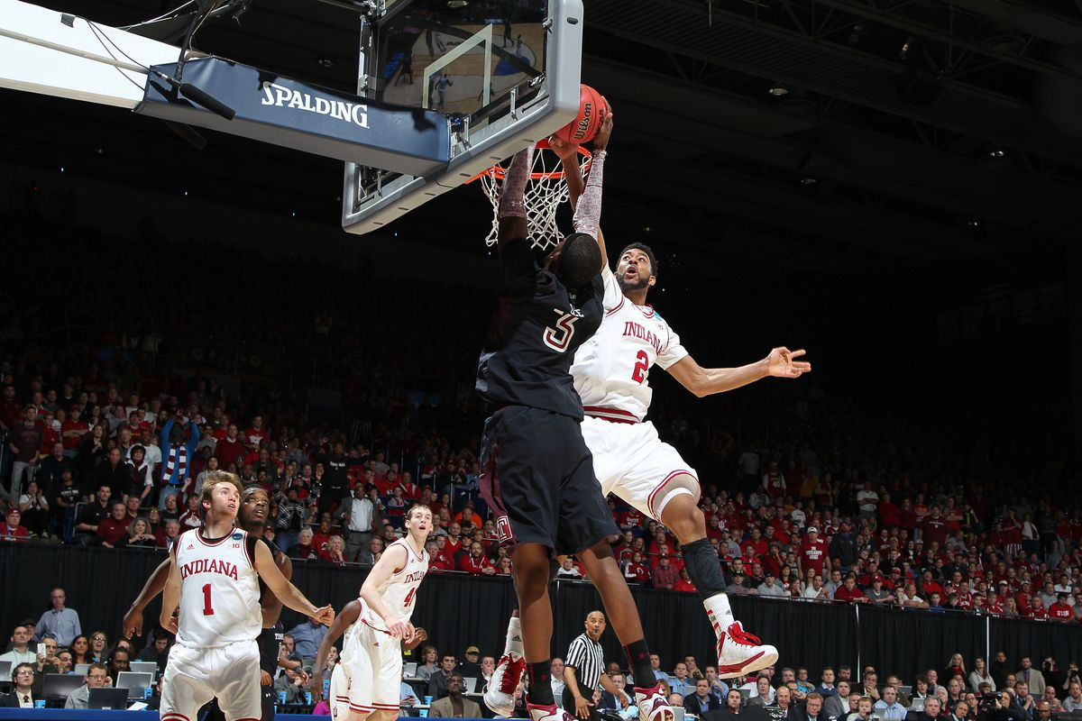 Already owner of the Wat Shot, Christian Watford can now lay claim to the Wat Swat after this critical block in Sunday's thriller.