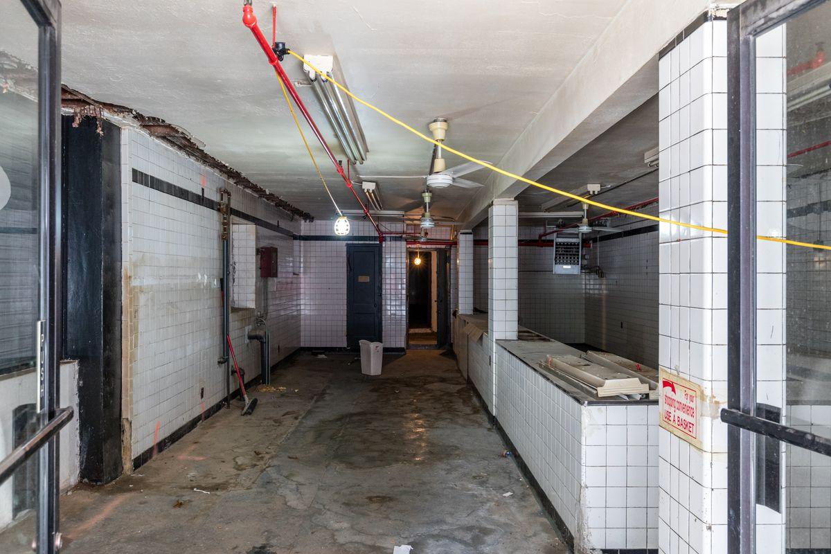 A peek inside the matzo factory as its undergoing demolition