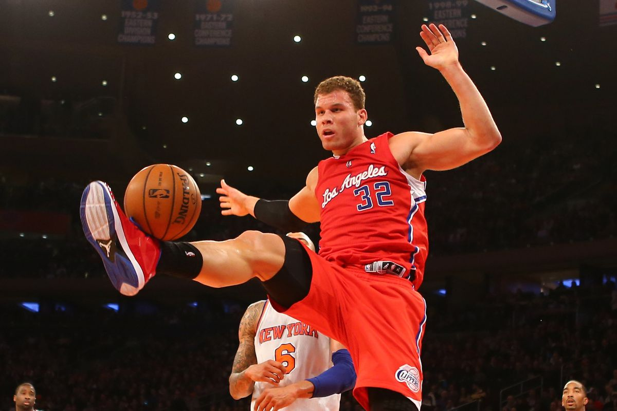 All-Pro Punter Blake Griffin in action at Madison Square Garden on Sunday.