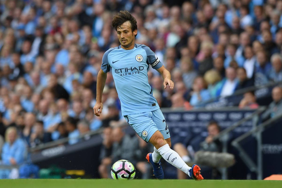"David Silva Says Man City ""won't Play For A Draw"" In"