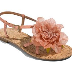 "Report Flower Sandal, $60, at <a href=""http://shop.nordstrom.com/s/report-cobb-flower-sandal/3133022?origin=category&resultback=6538"" rel=""nofollow"">Nordstrom</a>"