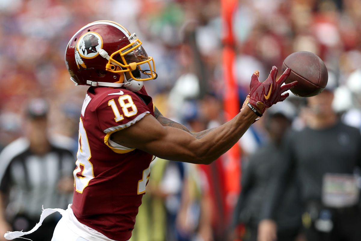 Skins Stats Josh Doctson And The Portrait Of A First Round