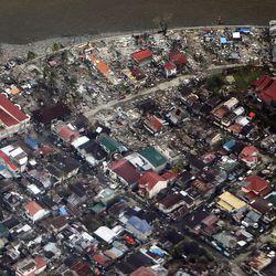 Damage in the Tacloban area, Thursday, Nov. 21, 2013.