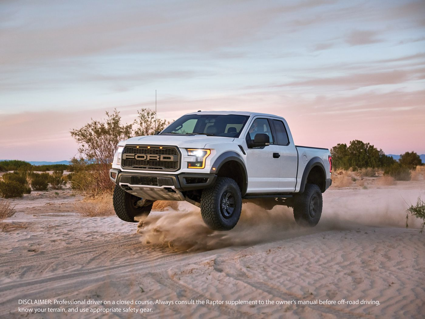 You Can Press The Baja Button In The 2017 Ford Raptor To Make It Eat