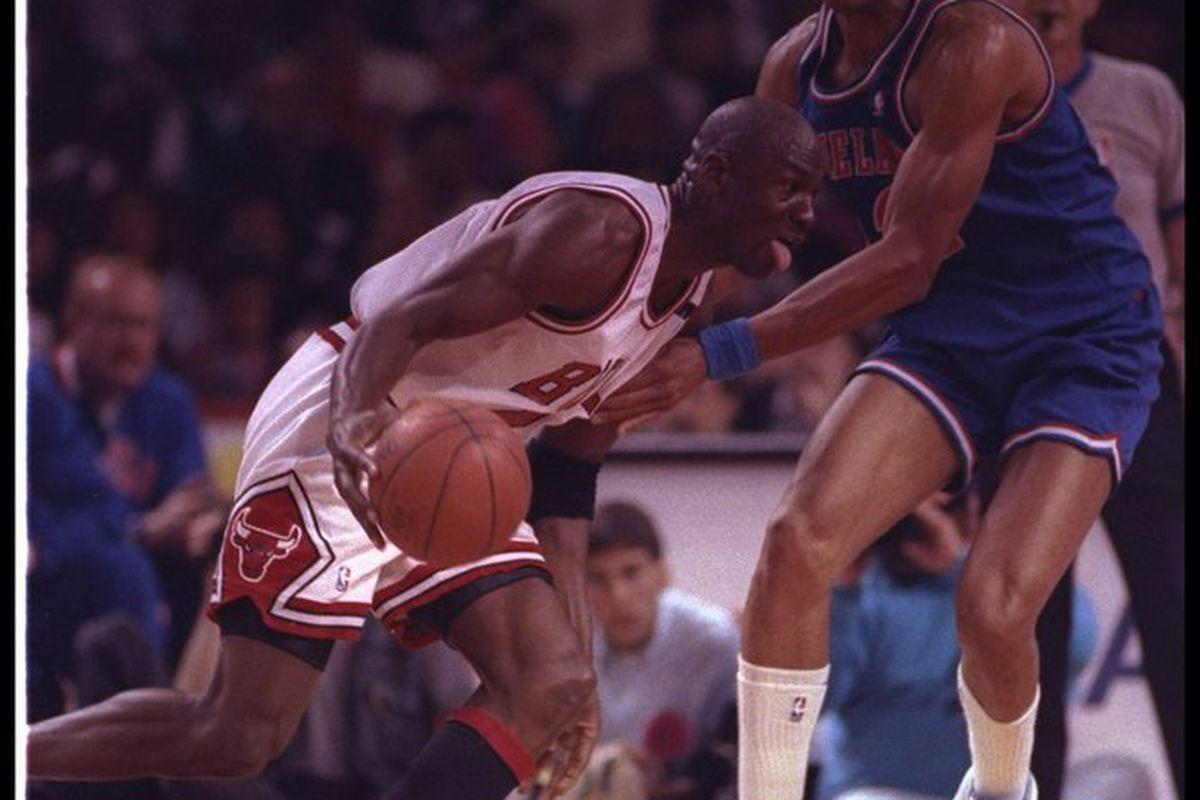 1993 Playoffs Retrospective Part V Michael Jordan Shuts Up Gerald