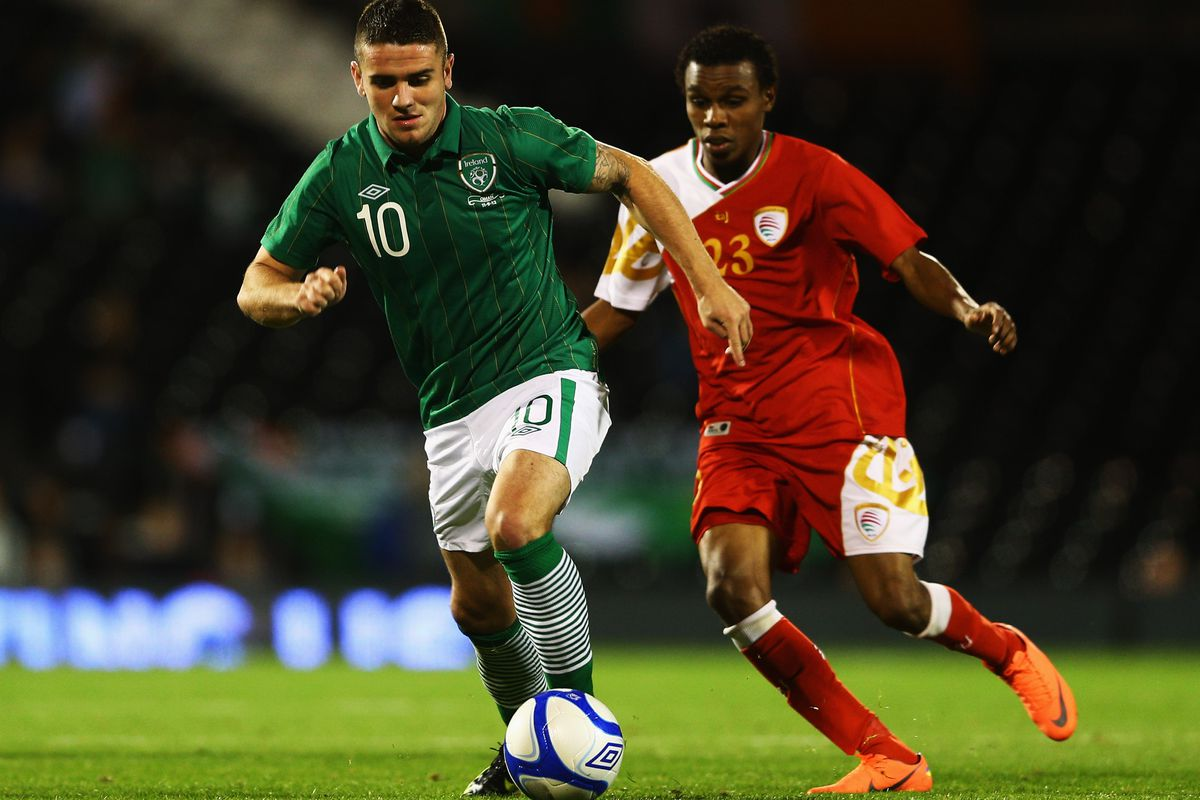 Robbie Brady impressed in his Ireland debut.