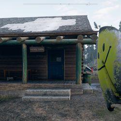Far Cry 5 Whitetail Park Ranger Station silver bars
