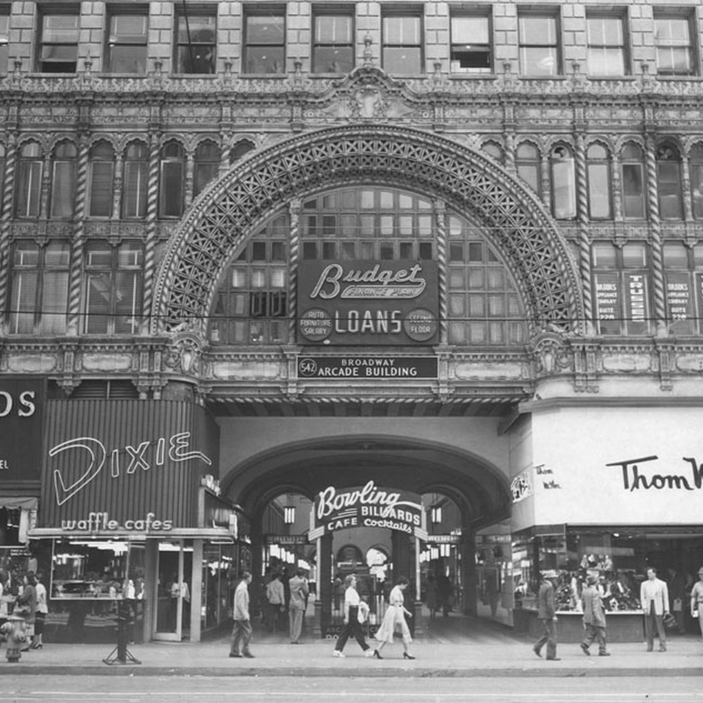 online shop super popular sale uk Downtown LA then-and-now photos, from Ace Hotel to Grand ...